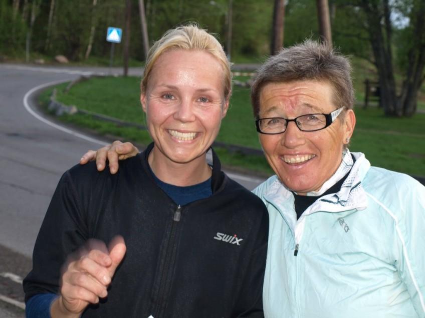 Ingrid Kristiansen og Anita