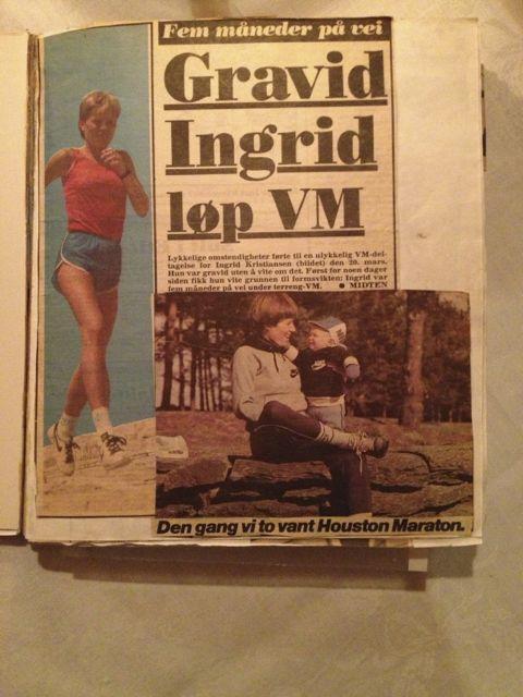 Ingrid Kristiansen Trening Svangerskap
