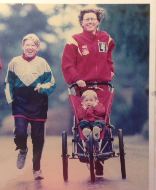 Ingrid Kristiansen trening med barn