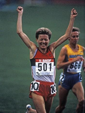 Ingrid Kristiansen ,Bislett