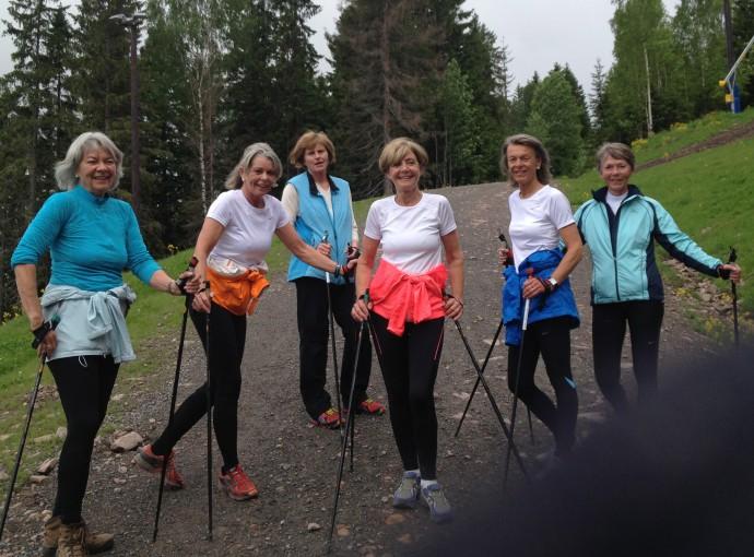 Ingrid Kristiansen, stavgangs trening