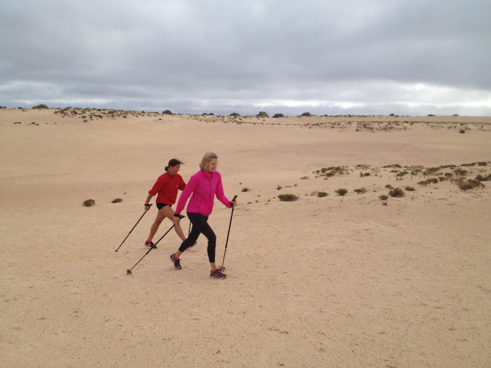 Ingrid Kristiansen ,Nordic Walking
