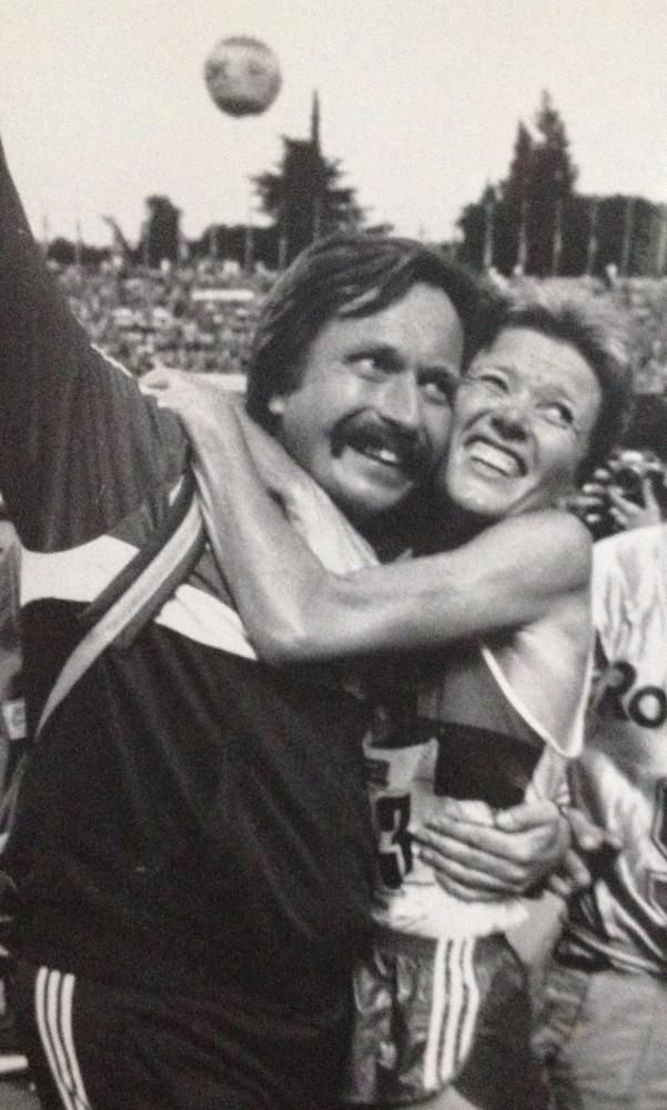 Ingrid Kristiansen og Johan kaggestad