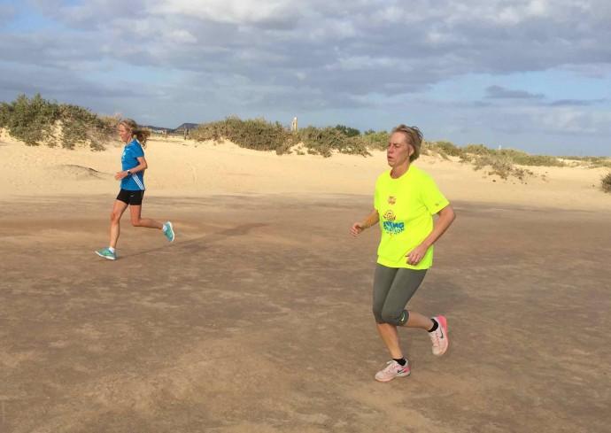 Løping i ørken 2