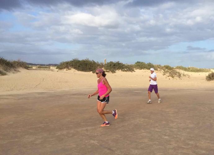 løping i ørken 1